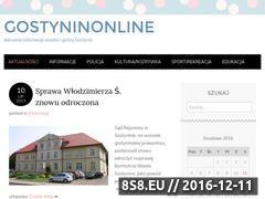 Miniaturka domeny gostyninonline.wordpress.com