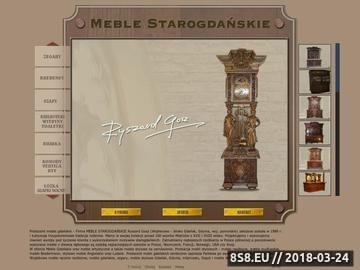Zrzut strony Meble artystyczne, stylowe - Gdynia, Gdańsk i Wejherowo