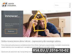 Miniaturka gotexstolarka.pl (Dzwi, okna oraz bramy garażowe w Kielcach)