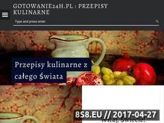 Miniaturka domeny gotowanie24h.pl