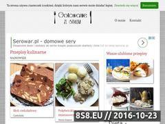 Miniaturka domeny www.gotowaniezestylem.pl