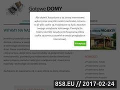 Miniaturka domeny gotowe-domy.eu