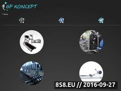 Miniaturka gpkoncept.pl (Sprzęt do siłowni)