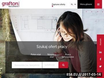 Zrzut strony Agencja pośrednictwa pracy