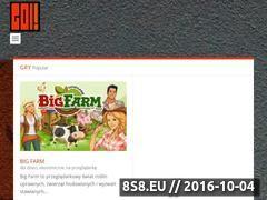 Miniaturka grajol.pl (Darmowe gry online w przeglądarce i do pobrania)