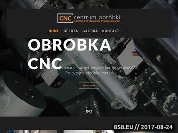 Zrzut strony Frezowanie CNC