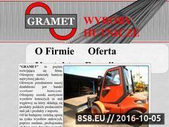 Miniaturka domeny gramet-stal.pl