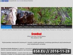 Miniaturka domeny www.gran-bud.e-biznes.org