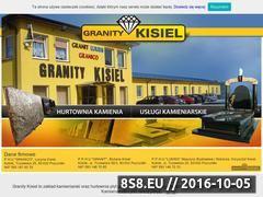 Miniaturka domeny granitykisiel.pl