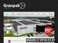 Miniaturka domeny www.granpak.pl