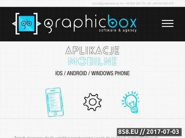 Zrzut strony GRAPHICBOX - Software & Agency