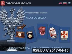 Miniaturka grawerstwo.biz.pl (Produkcja medali, klucz do beczek i ryngrafy)