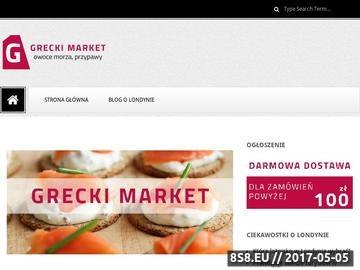 Zrzut strony Greckie produkty