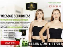 Miniaturka domeny www.greenbarleyslim.pl