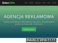 Miniaturka domeny greencitrin.pl