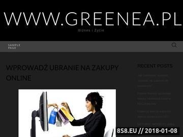Zrzut strony GREENEA Pracownia Architektury Krajobrazu, ogrody - Lublin