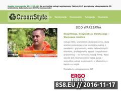 Miniaturka domeny greenstyle.com.pl