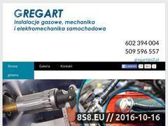 Miniaturka domeny gregart.pl