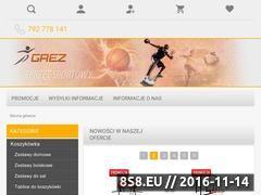 Miniaturka www.grez.pl (Sprzęt do koszykówki - sprzęt sportowy)