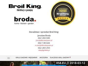 Zrzut strony Grille Gazowe Broil King