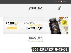 Miniaturka grinday.com (Producent suplementów)