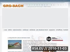 Miniaturka domeny www.grodach.pl