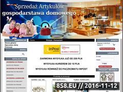 Miniaturka www.groszmarket.pl (Sklep internetowy - naczynia, garnki i sztućce)