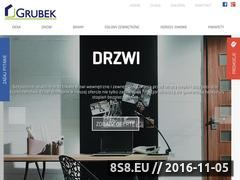 Miniaturka domeny www.grubek.pl