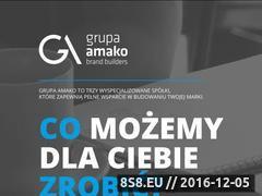 Miniaturka domeny www.grupaamako.pl