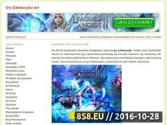 Miniaturka domeny www.gry-edukacyjne.net