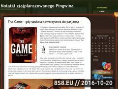 Miniaturka gry.pingwin.waw.pl (Notatki zplanszowanego Pingwina)