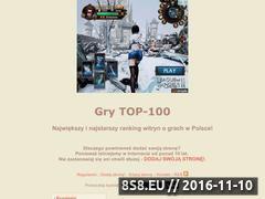Miniaturka domeny gry.top-100.pl