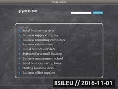 Miniaturka domeny grycman.com