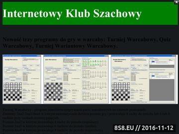 Zrzut strony Programy do gry w szachy i warcaby 64 i 100 polowe