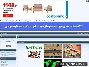 Zrzut strony Gry online