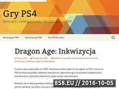 Miniaturka gryps4.pl (Blog z opisami gier na konsole PS4)
