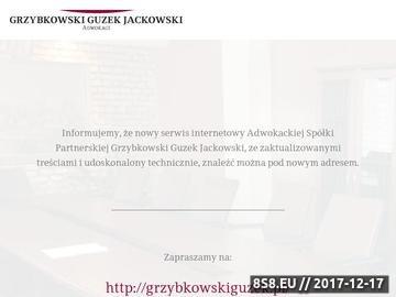 Zrzut strony kancelaria poznań