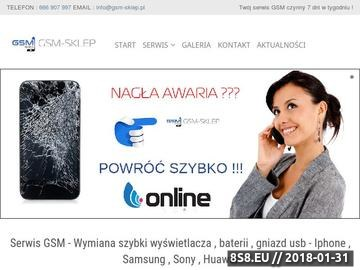 Zrzut strony Serwis iPhone