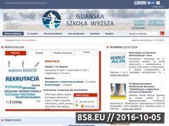 Miniaturka gsw.gda.pl (Studia licencjackie Trójmiasto)