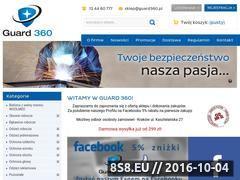 Miniaturka domeny guard360.sklep.pl