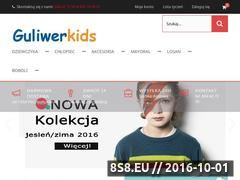 Miniaturka domeny www.guliwerkids.pl