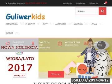 Zrzut strony GuliwerKids-odzież dziecięca obuwie dziecięce