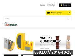 Miniaturka gunbroker.pl (Importer akcesoriów myśliwskich i strzeleckich)
