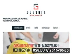 Miniaturka domeny www.gustaff-tlumaczenia.pl