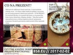 Miniaturka domeny gwiazdka.conaprezent.pl