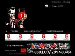 Miniaturka gymmaniak.pl (Sklep z odżywkami i suplementami GymManiak)
