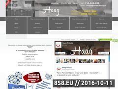 Miniaturka www.haag.pl (Katalog stron internetowych)