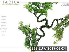 Miniaturka domeny www.hadika.pl