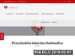 Miniaturka hadmedica.pl (Lekarskie konsultacje specjalistyczne)