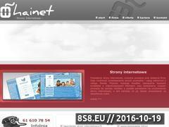 Miniaturka domeny www.hainet.pl